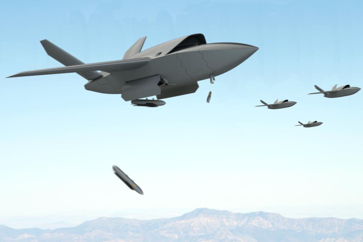 В США запустили одноразовый тактический беспилотник