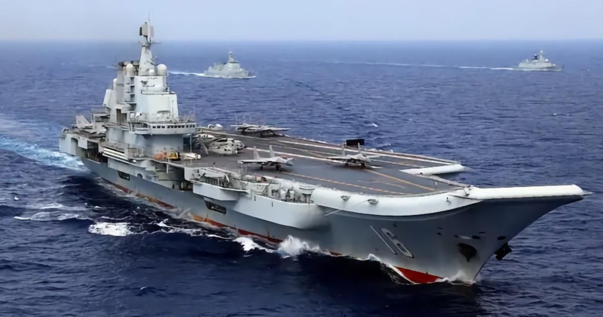 Опубликованы свежие снимки китайского авианосца нового поколения Type 003