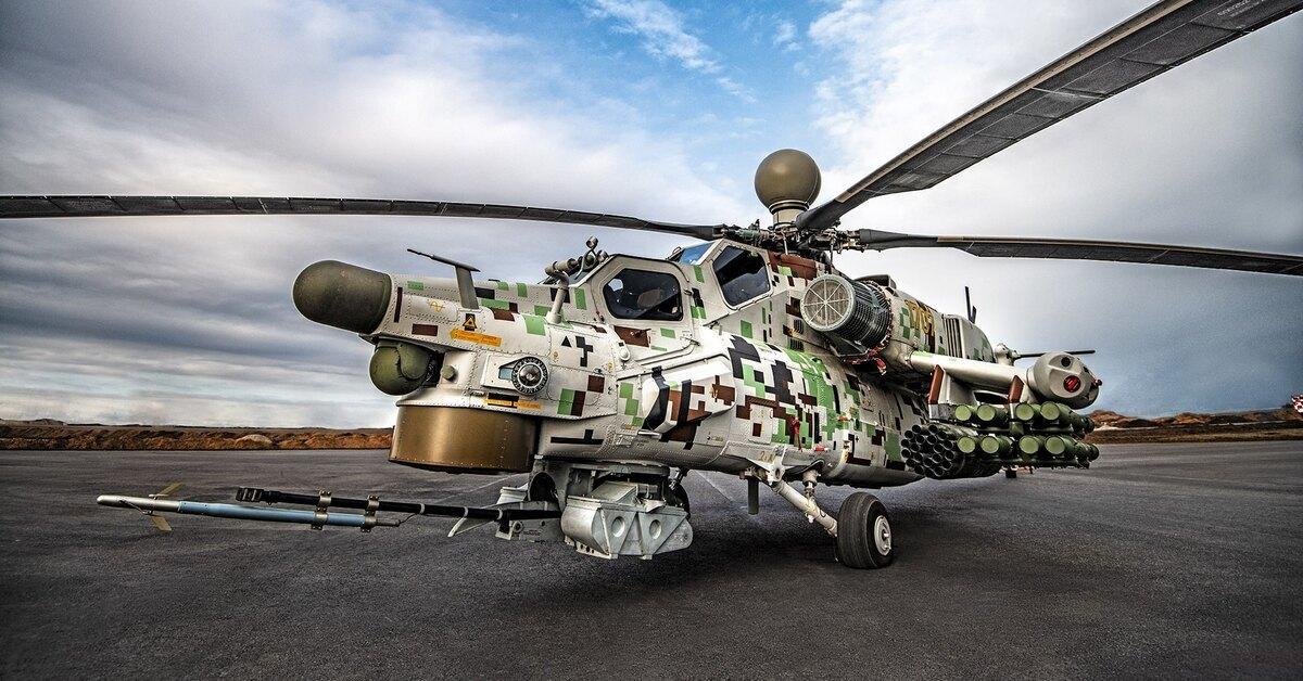 В США признали российские военные вертолёты одними из лучших
