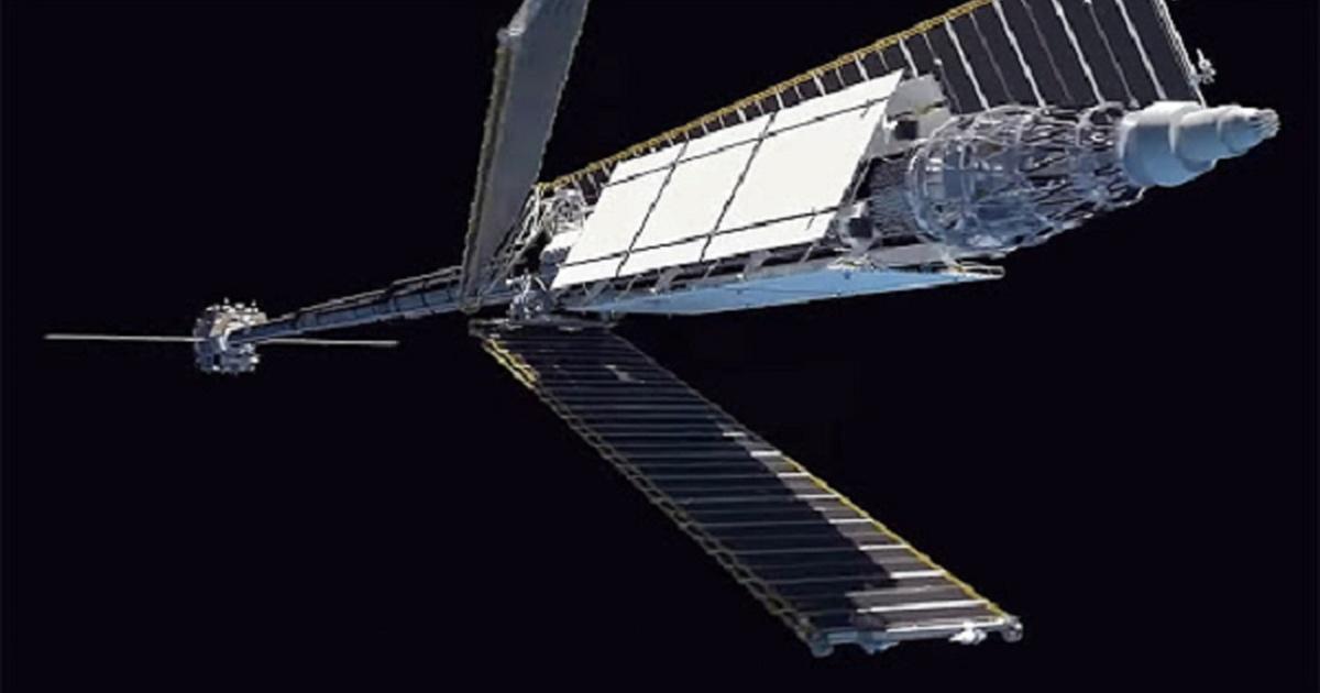 Роскосмос показал Путину макет ядерного космического буксира «Зевс»