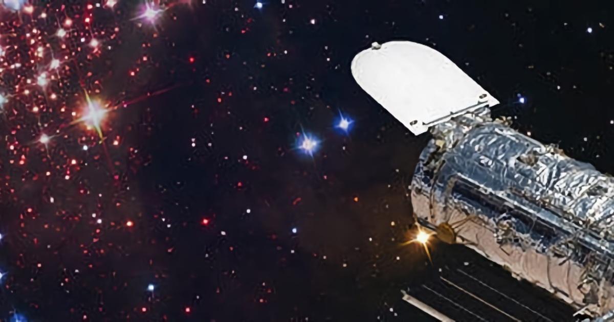 Телескоп Хаббл заснял редкое космическое явление