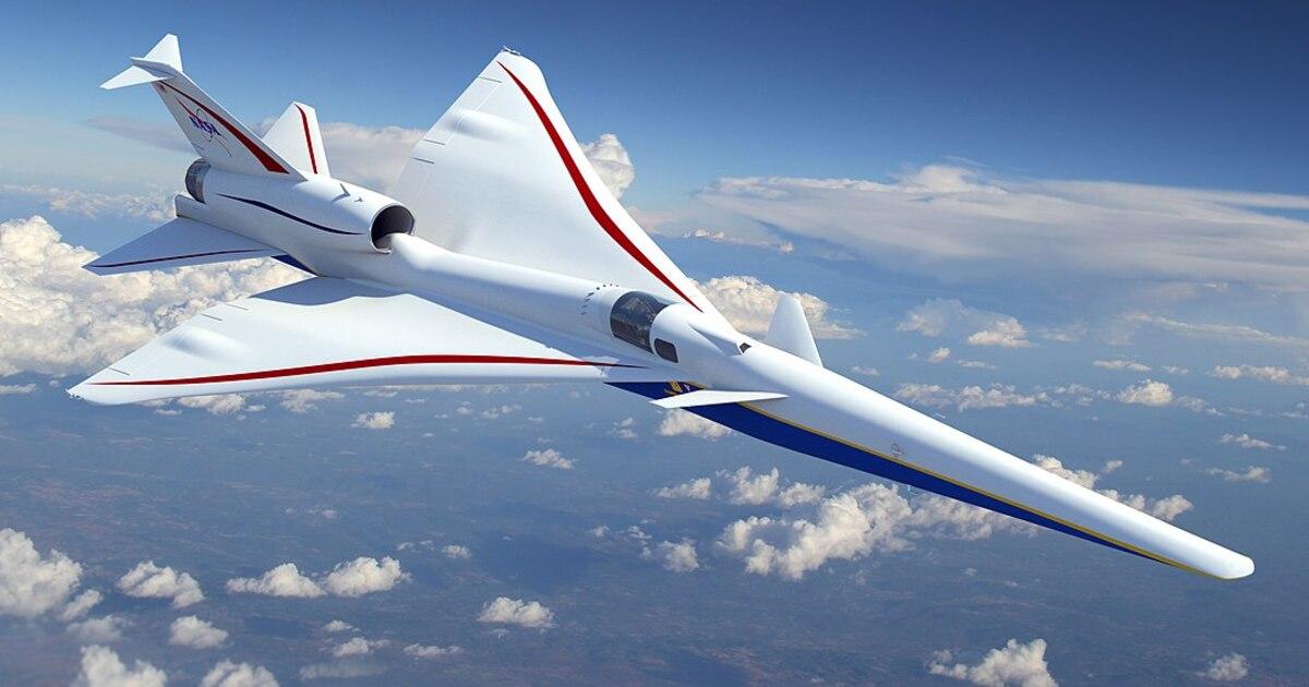 В США показали прототип «тихого» сверхзвукового самолёта