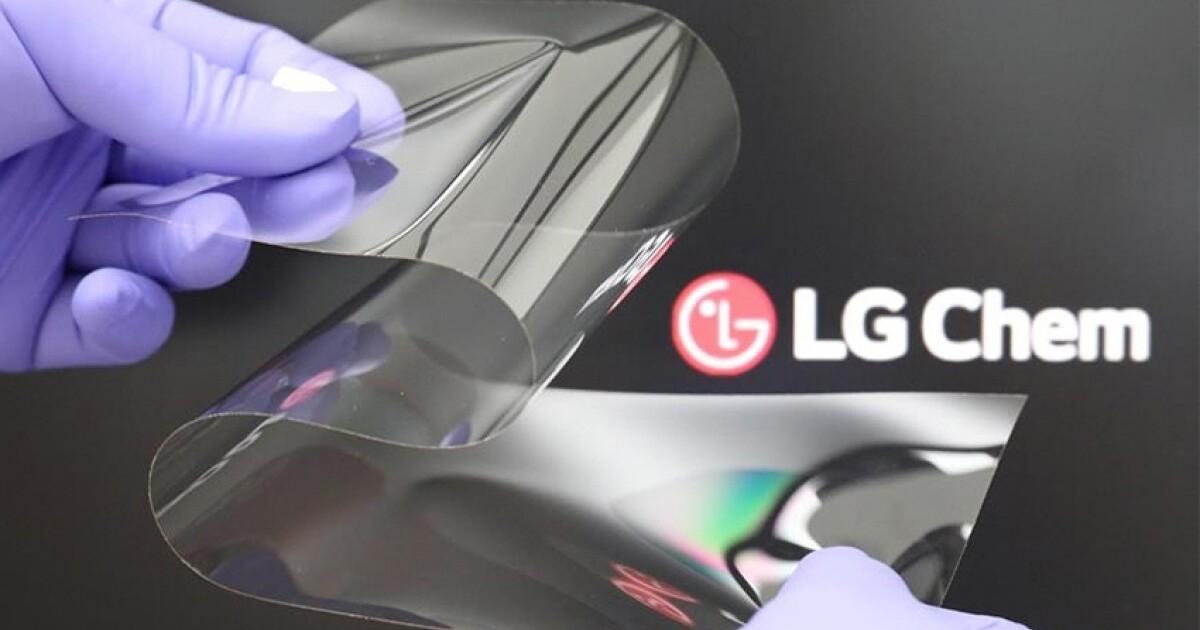 LG представила по-настоящему прочные гибкие экраны