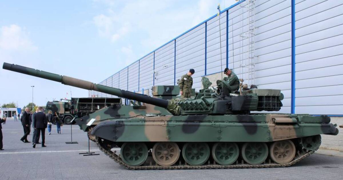 Польша улучшила советский танк Т-72