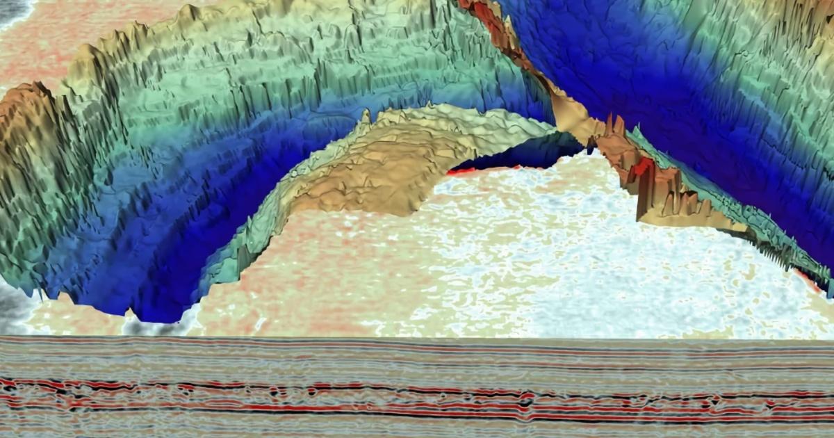 Ученые выяснили, что расположено под дном Северного моря