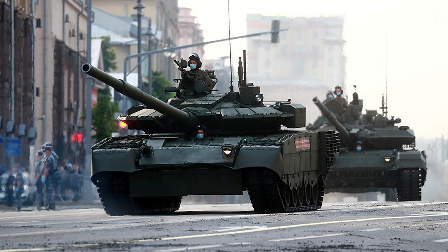 Российский танк Т-90М «Прорыв» назвали «танковым бизнес-классом»