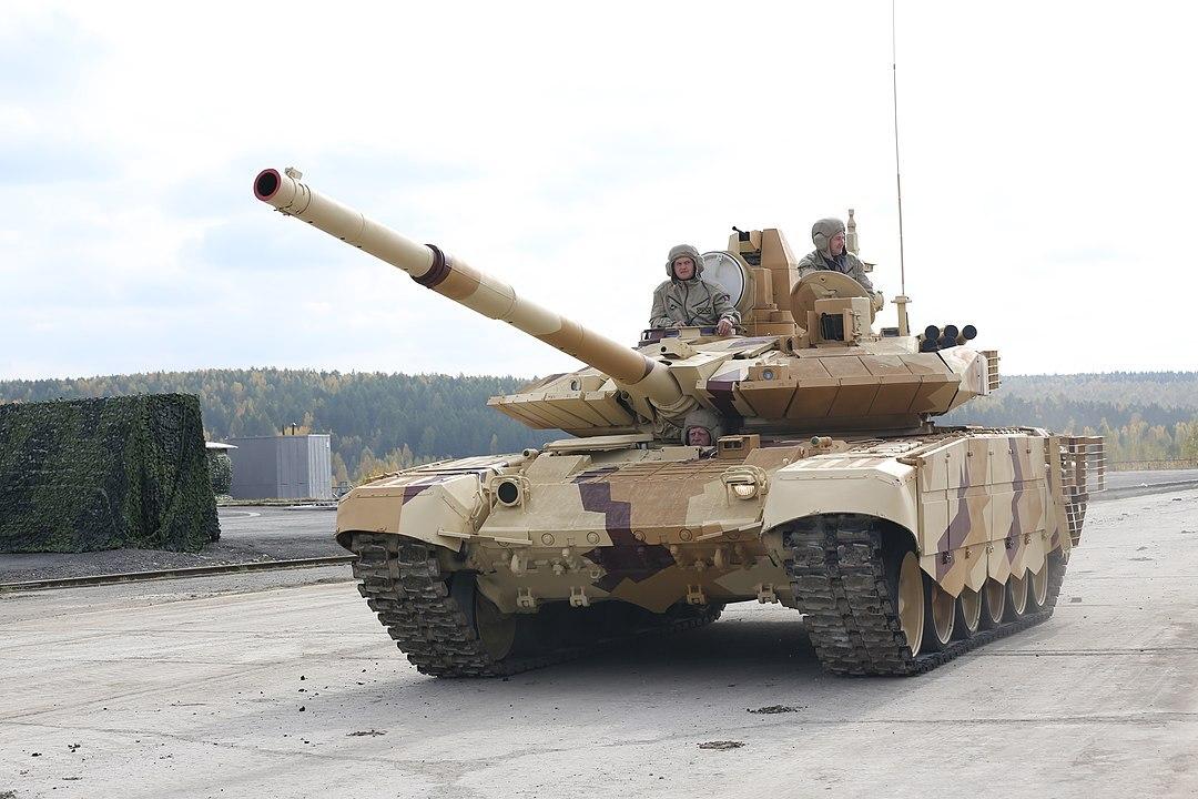 На видео показали проверку защиты для танков