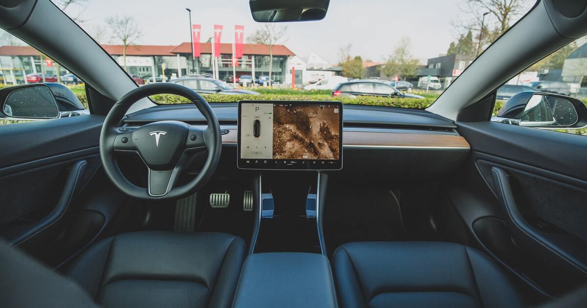 Украинец установил «пиратский» автопилот на Tesla и проехался на ней по Киеву