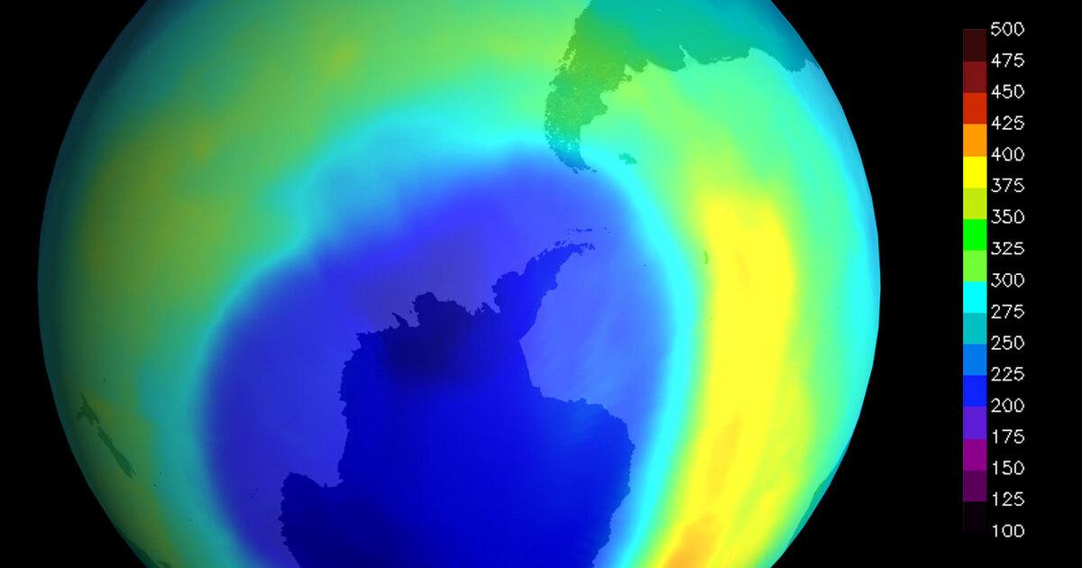 Озоновая дыра начала резко расти