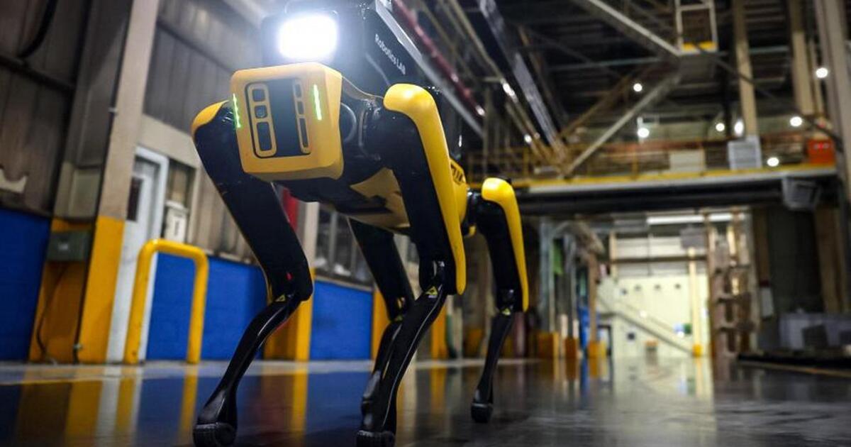 Корейские заводы Kia будет охранять четвероногий робот