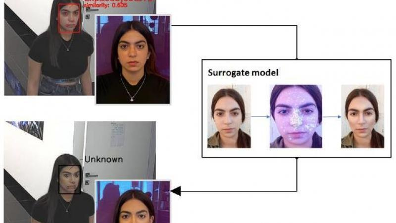 Найден способ обмануть систему распознавания лиц
