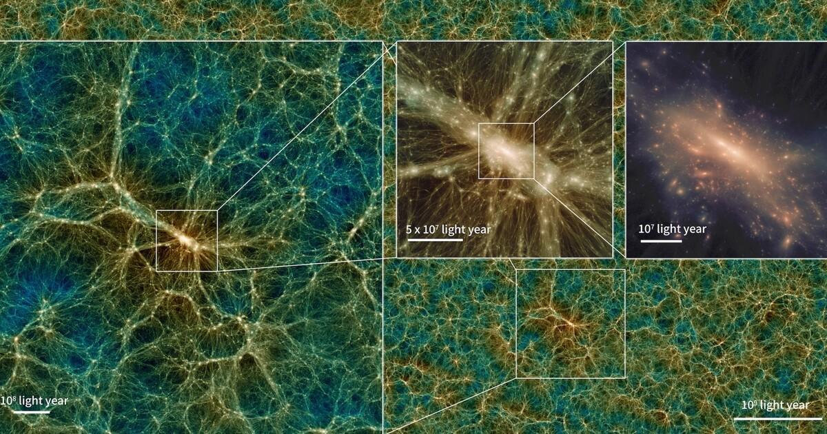 Учёные создали симулятор Вселенной с возможностью скачивания на компьютер