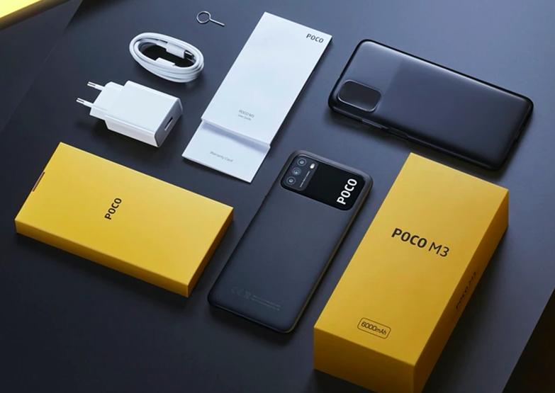 Смартфон Xiaomi Poco M3 с аккумулятором на 6000 мАч и 128 ГБ памяти продают по минимальной цене
