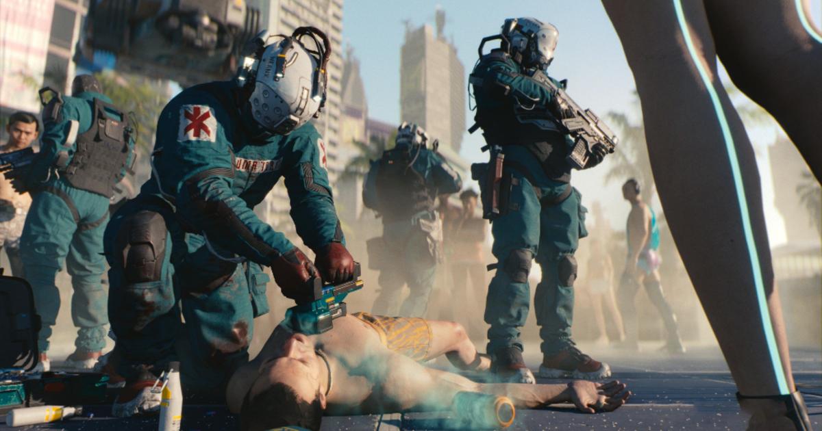 Игрок «сломал» поведение персонажей игры Cyberpunk 2077 не сходя с места
