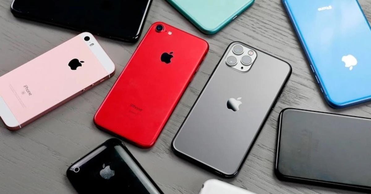 Назван самый популярный среди россиян iPhone в 2021 году