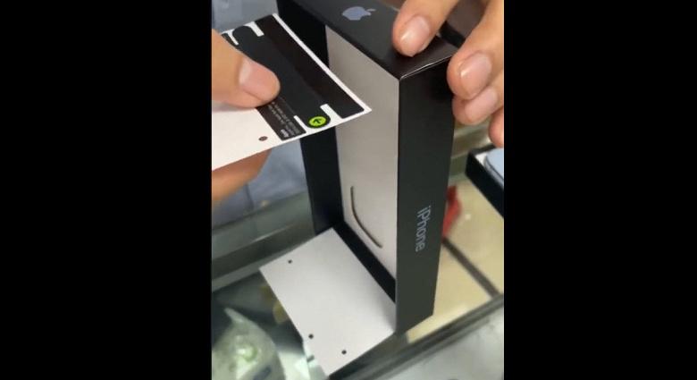 Коробки из-под iPhone 13 научились подделывать