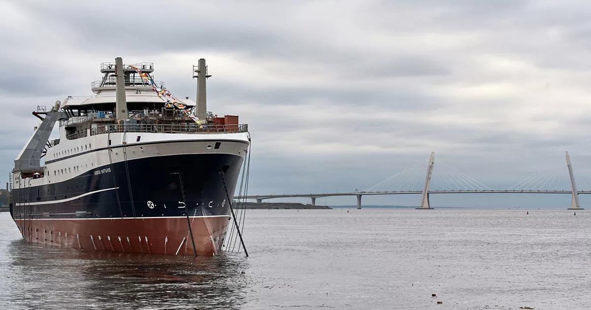 Россия запустила в работу экстремально крупное рыболовное судно
