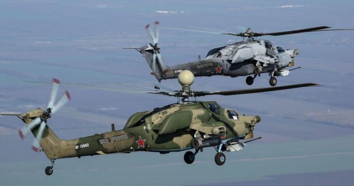 Российские военные получили новейшие вертолёты Ми-28НМ «Ночной охотник»