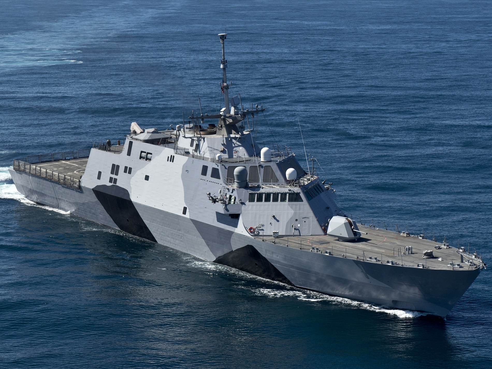 В США начали выводить из эксплуатации новые военные корабли