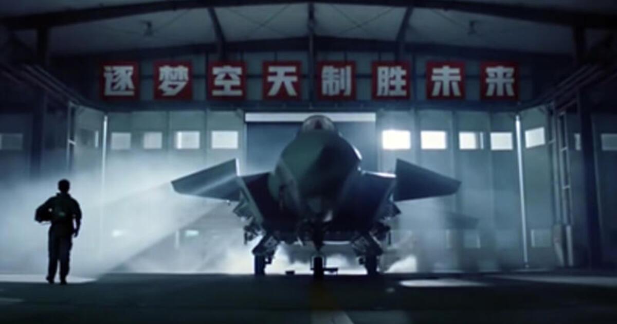 В Китае представили истребитель шестого поколения
