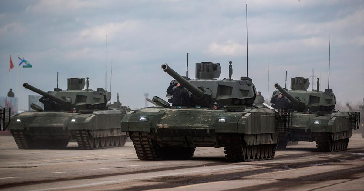 Российская военная техника будет автоматически менять цвет в зависимости от условий