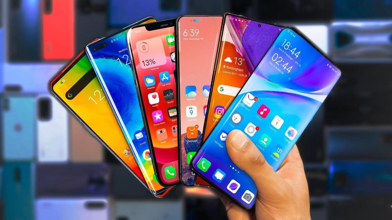 Перечислены топ-10 самых мощных Android-смартфонов за сентябрь 2021 года