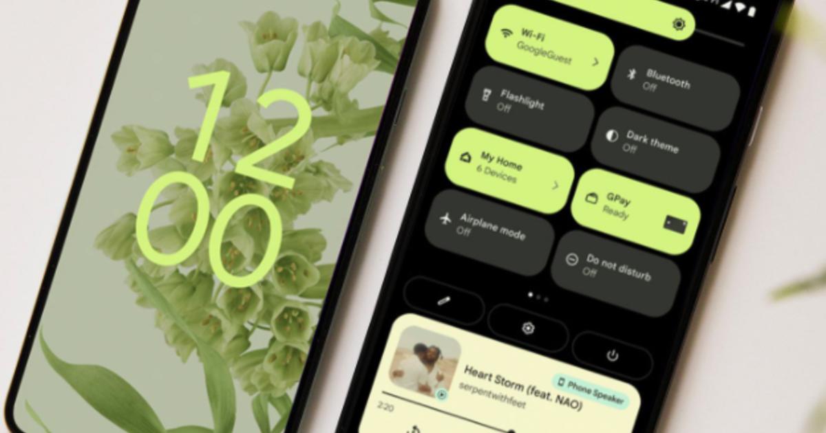 Google официально выпустила Android 12