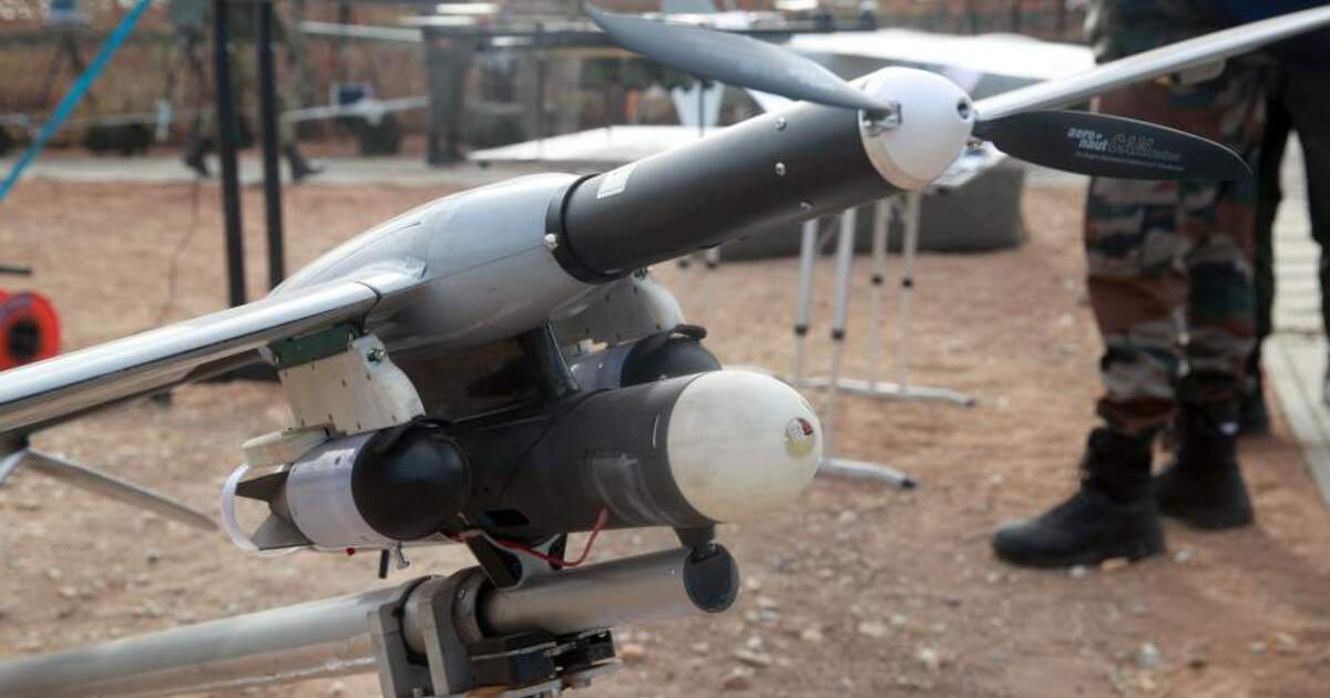 В российской армии появятся дроны-огнемётчики