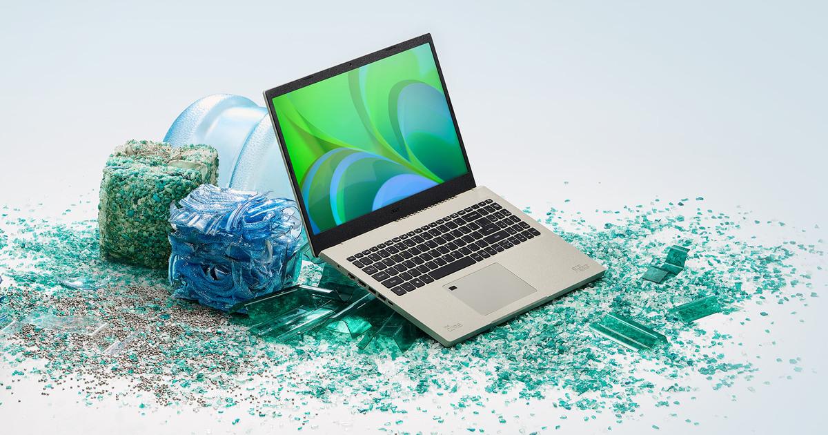 Acer выпустила ноутбук на базе Windows 11 из экологичных материалов
