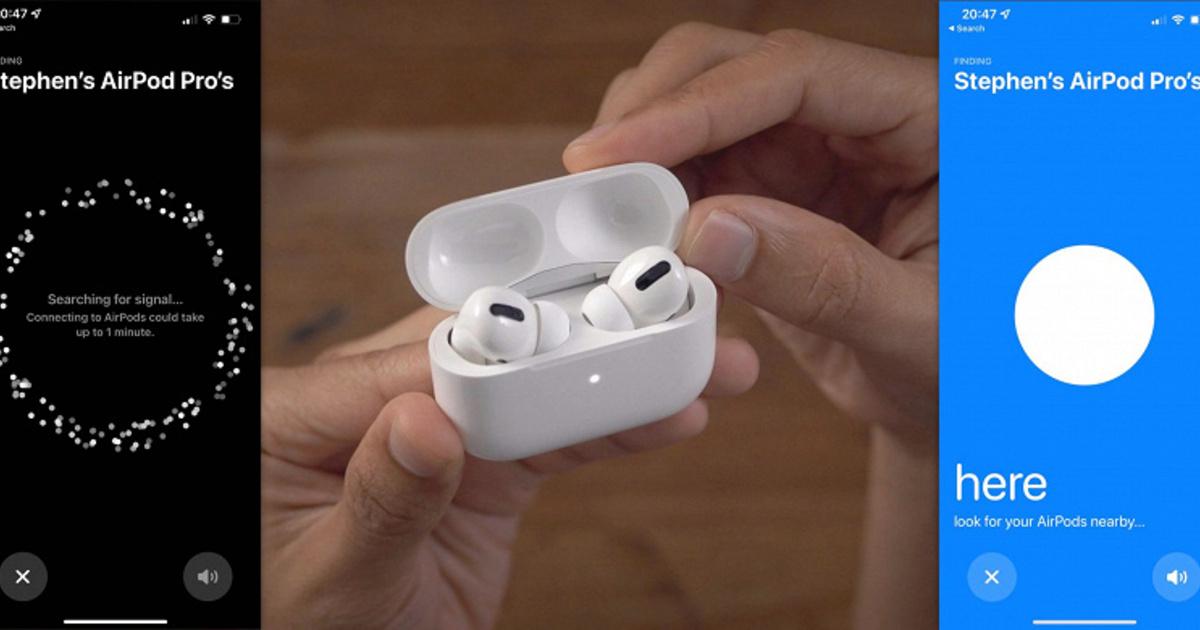 Apple разрешила искать наушники AirPods Pro и AirPods Max с помощью iPhone