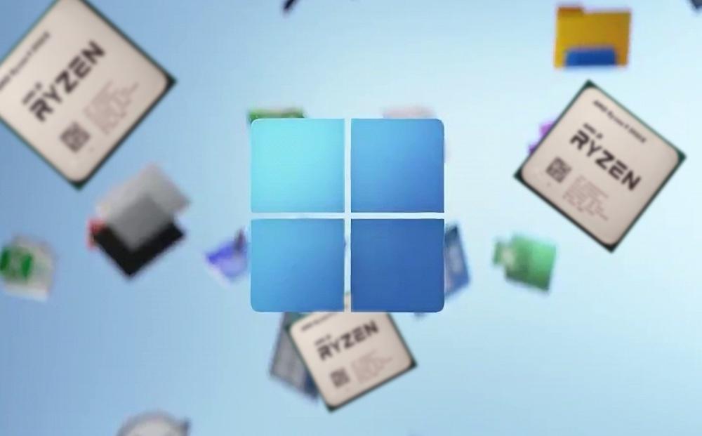 Windows 11 снижает производительность процессоров AMD