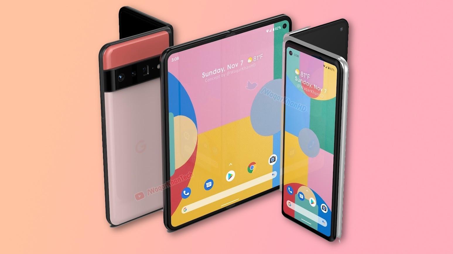 Google покажет первый складной смартфон уже в октябре 2021 года