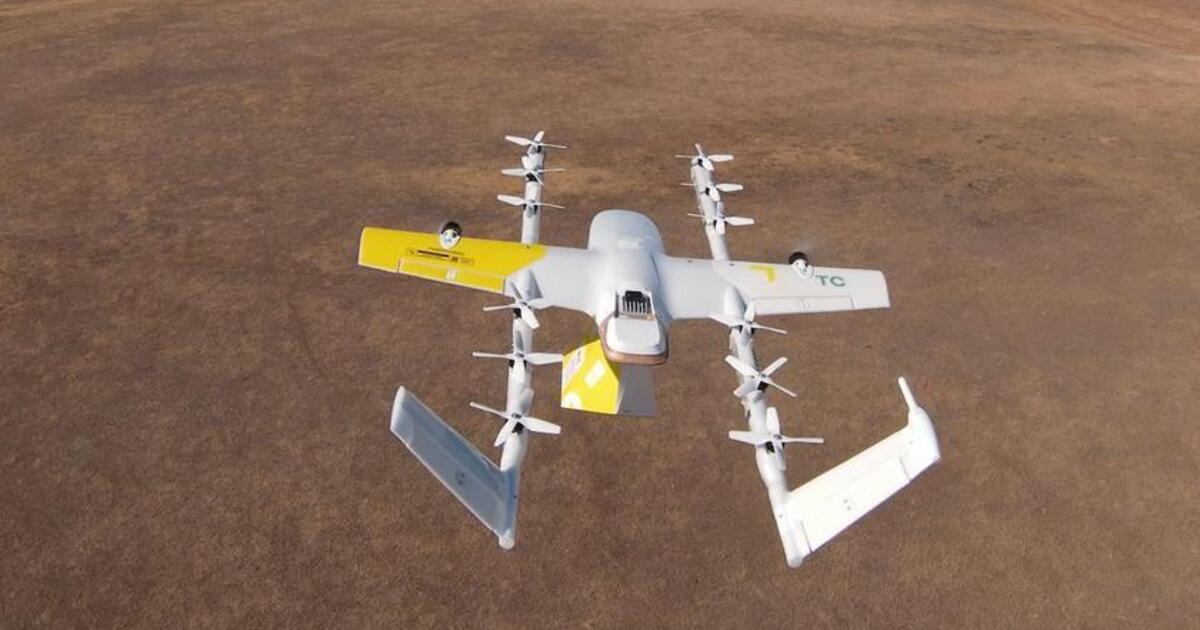 В Австралии посылки из интернет-магазинов начнут сбрасывать с дронов на крыши домов