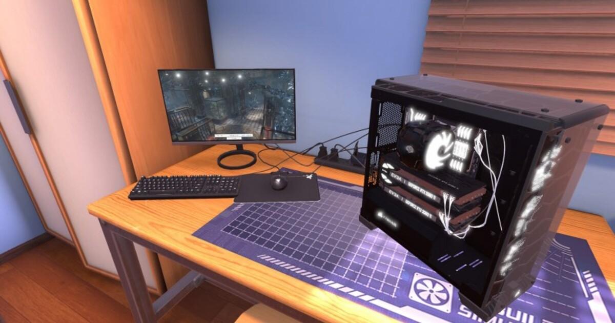 Симулятор сборки мощного компьютера раздают бесплатно и навсегда