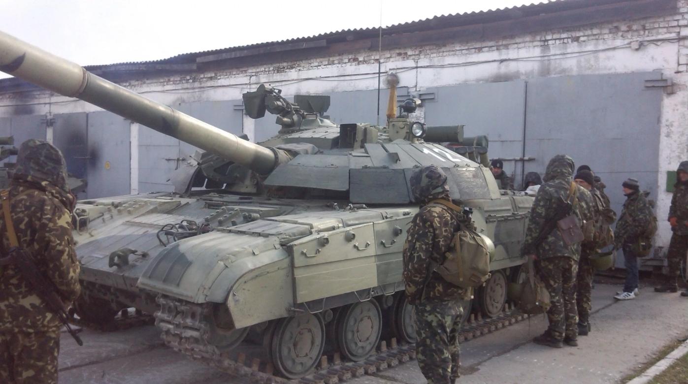 Модернизированный танк Т-64БМ2 показали на видео