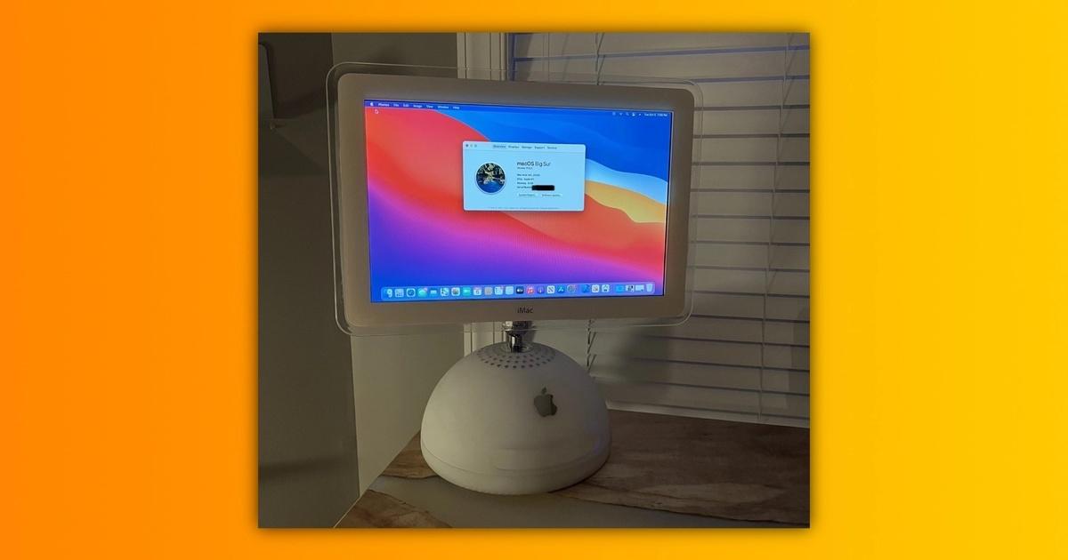Энтузиаст переделал 20-летний компьютер Apple в современную модель на процессоре M1