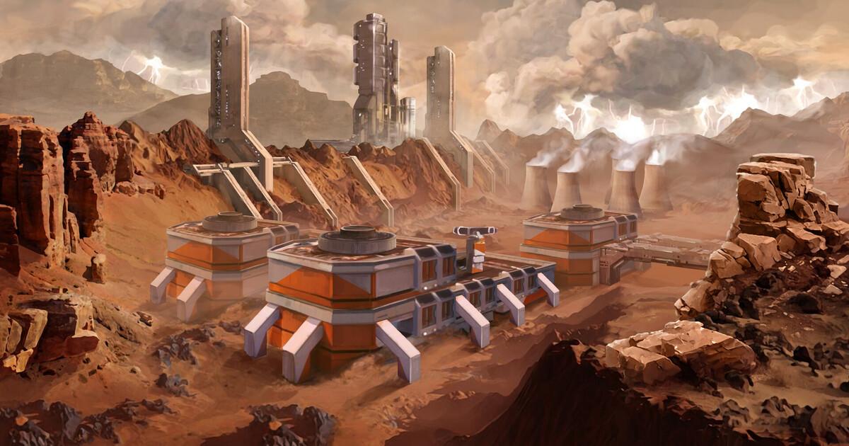 Илон Маск захотел собирать электромобили Tesla на Марсе