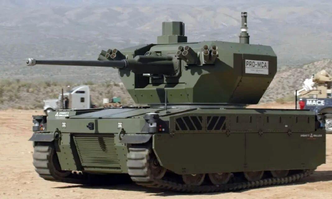 Испытания американского робота-танка в ретро-стиле попали на видео