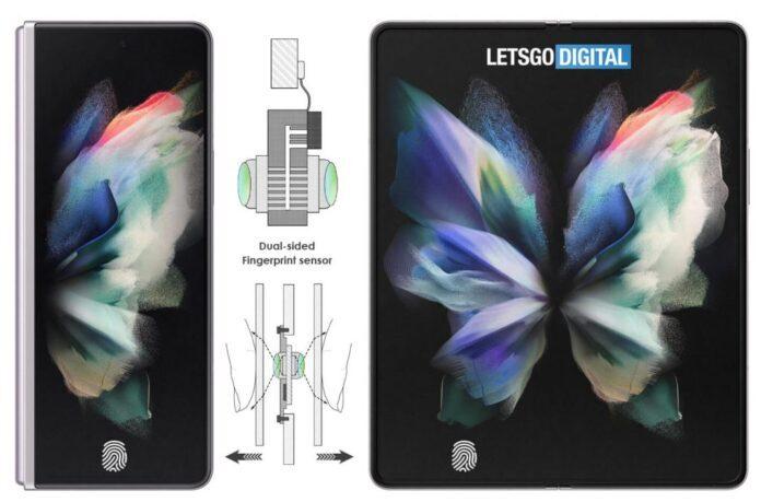 Samsung изобрела двусторонний сканер отпечатков пальцев для смартфонов
