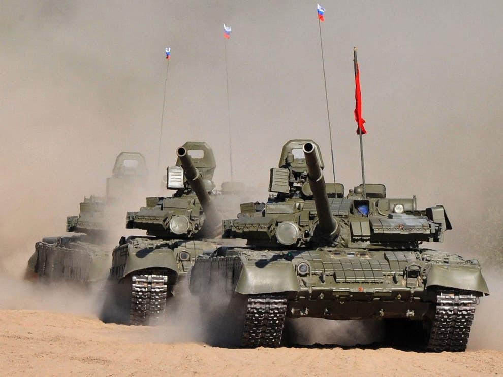 Названы различия между вариантами современных российских танков Т72, Т80 и Т90