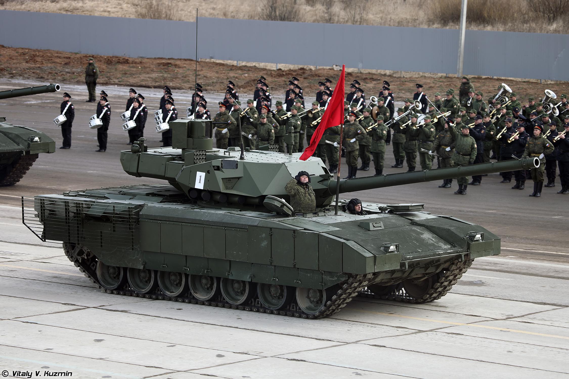 Северная Корея показала копию танка «Армата»
