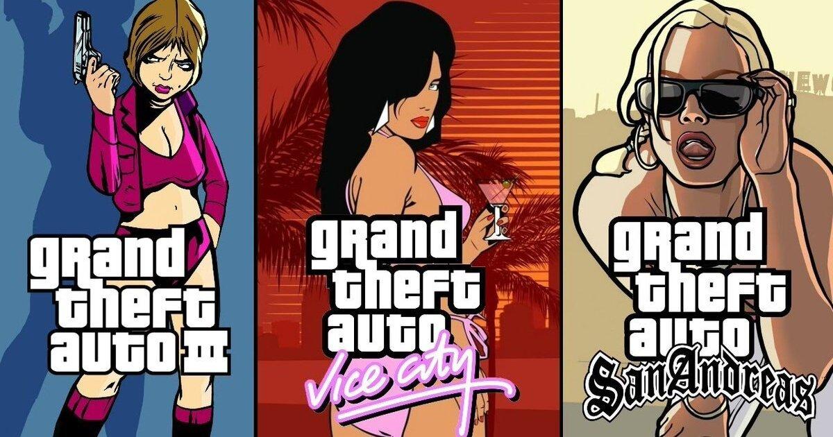 Rockstar удалила оригинальные версии GTA 3, Vice City и San Andreas из цифровых магазинов