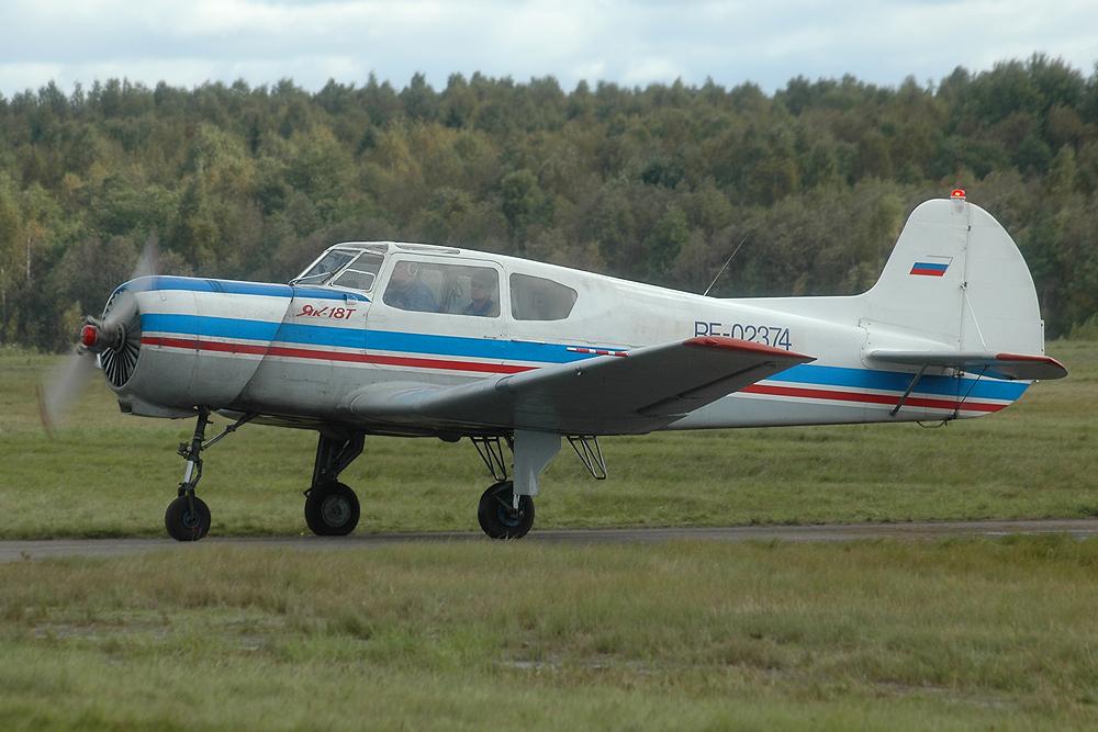 В России испытали самолёт с автомобильным двигателем