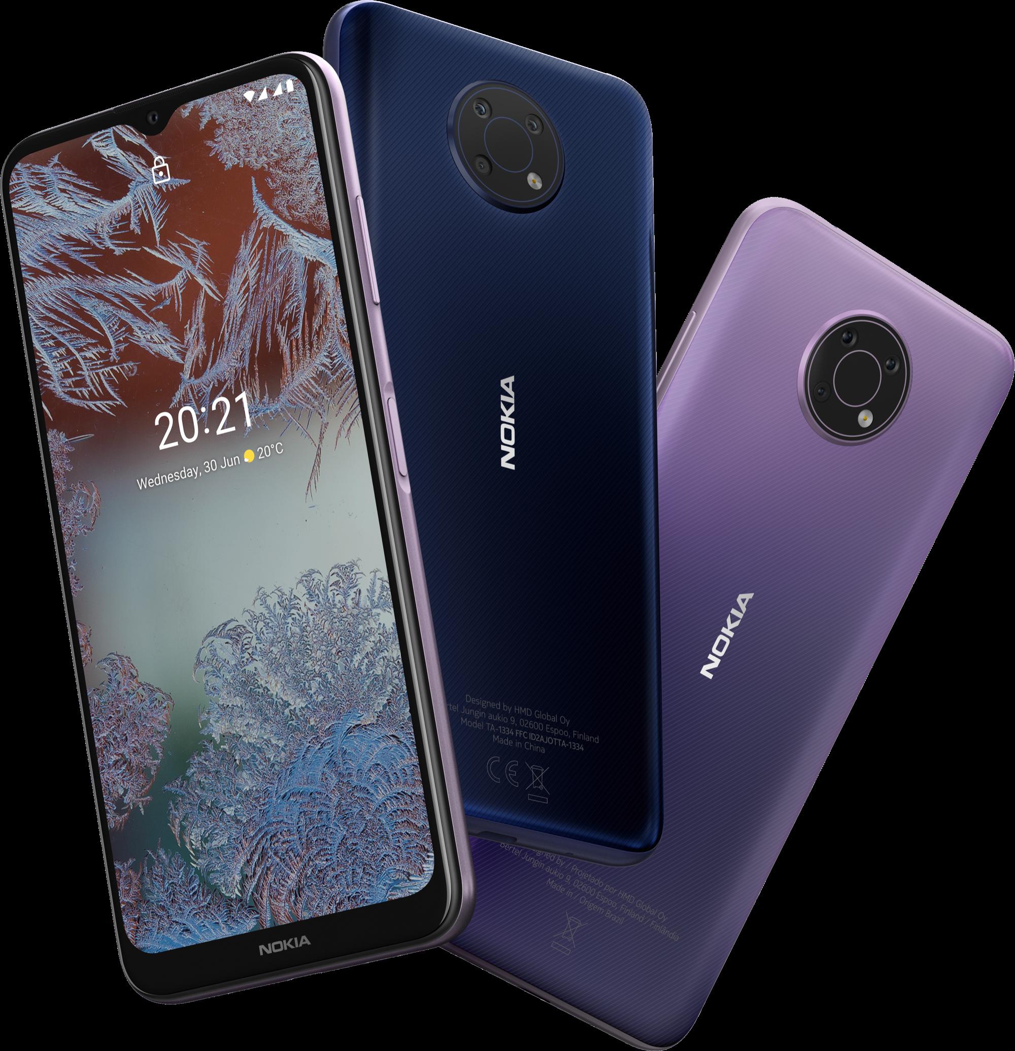 Бюджетный Nokia G10 с большим аккумулятором и трехмодульной камерой продают дешевле 9 тысяч рублей