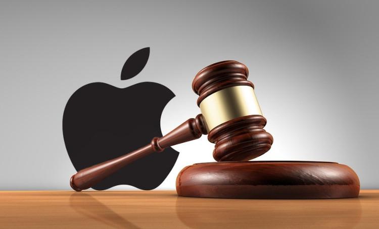 На Apple снова подают в суд