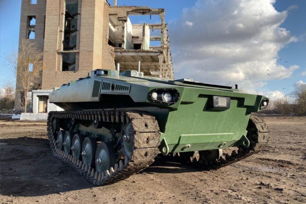 Раскрыты главные преимущества боевого российского робота «Маркер»