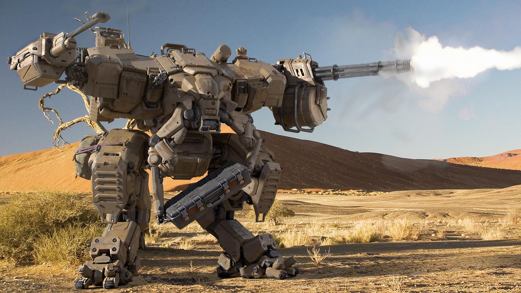 В России планируют наладить выпуск боевых роботов — Ferra.ru