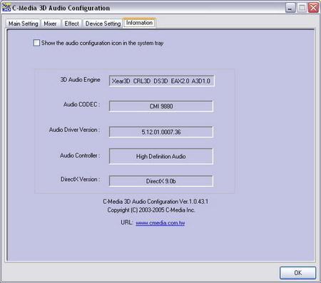 C-MEDIA 9880 AUDIO CODEC DRIVER PC