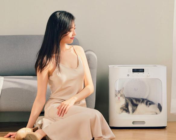 Xiaomi начала продавать сушилку для котов и собак
