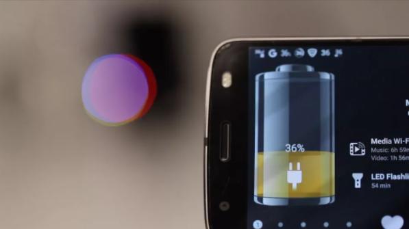 Motorola изобрела технологию воздушной зарядки смартфонов